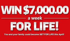 win 7000 cash a week for life on pch sweepstakes no 6900 - PIPicStats Instant Win Sweepstakes, Online Sweepstakes, 10 Million Dollars, Win For Life, Instant Win Games, Instant Cash, Congratulations To You, Publisher Clearing House, Winning Numbers