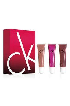 CK One Lip Gloss Trio #Refinery29