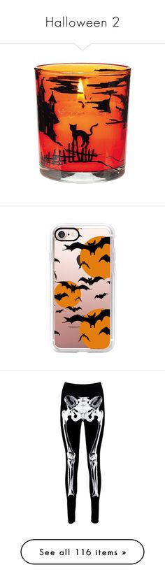 """""""Halloween 2"""" by musicmelody1 on Polyvore featuring home, home decor, candles & candleholders, halloween home decor, halloween candles, accessories, tech accessories, iphone case, pattern iphone case and print iphone case"""