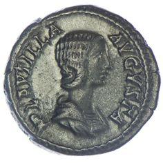 Plautilla 202 - 205 Denar Silber  Römische Kaiserzeit
