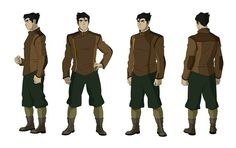 Creator of Threadworlds, an upcoming graphic novel series with First Second Books; co-creator of The Legend of Korra & Avatar: The Last Airbender; Character Model Sheet, Character Modeling, Comic Character, Character Concept, Concept Art, Character Ideas, Character Turnaround, Korra Avatar, Team Avatar