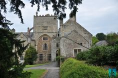 Buckland Abbey is a 700 years old house from Yelverton close to Devon county in south-west England