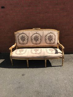 Edwardian Antique Rococo Solid Carved Walnut 3 Seater Salon Canape Sofa Settee Goods Of Every Description Are Available Antique Furniture Home, Furniture & Diy