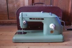 Vintage hand sewing machine Old-fashioned sewing by TallinnVintage