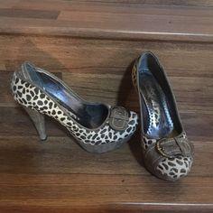"Leopard design shoes Leopard design shoes hills 4,5 "" Shoes Platforms"