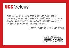 Rev. Anthony B. Robinson - UCC Voice.