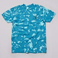 Flatspot - Huf Bleached H T Shirt Bleached Jade