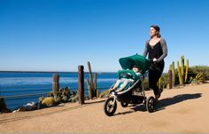 Bumbleride Indie Stroller is a great option for an all-terrain buggy for new parents. #baby #stroller