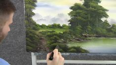Paint with Kevin Hill - Morning by the Lake