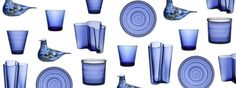 Iittala celebrates Finland's 100th Anniversary with new ultramarine products