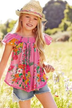 Buy Floral Crinkle Top (3-16yrs) from the Next UK online shop