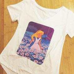 Alice Daisy Daisies Floral Alice in Wonderland Disney Shirt Top