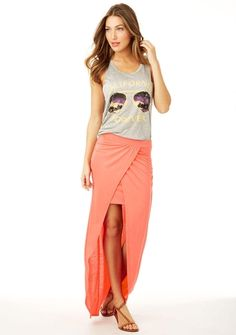 Valerie Slit Maxi Skirt from Alloy on Catalog Spree, my personal digital mall.