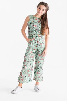 Jumpsuit now at the C&A online shop – Fast delivery✓ Top quality✓ Great prices✓ Kids Outfits Girls, Cute Girl Outfits, Girls Fashion Clothes, Cute Outfits For Kids, Little Girl Dresses, Kids Fashion, Girls Dresses, Fashion Fashion, Plus Sise