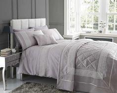 Mauve Pale Purple Super King Duvet Cover Bedding Bed Set With Lace Detailing Homespace Direct http://www.amazon.co.uk/dp/B00KCPCVRI/ref=cm_sw_r_pi_dp_GZSqub0X7WWM3
