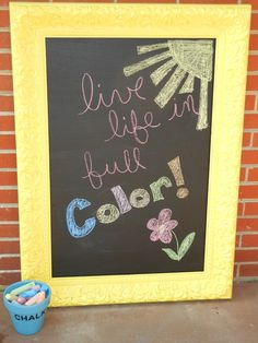 cool chalkboard