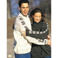 Saddle Sleeve Snowflakes - Knitting Patterns - Patterns | Yarnspirations