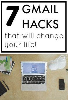 Check out these 7 top Gmail hacks to make your email more efficient and effective! Who knew Gmail had all these hidden features! hacks, 7 Gmail Hacks That Will Change Your Life Computer Help, Der Computer, Computer Tips, Computer Programming, Computer Lessons, Evernote, Estilo High Tech, Vida Frugal, Case Modding