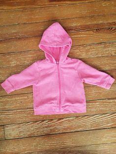 Parisian bebe 12 months pink hooded jacket
