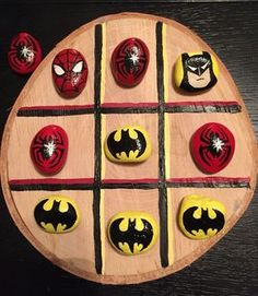 Painted rock tic tac toe rock projects rock crafts, stone art ve painte Pebble Painting, Pebble Art, Stone Painting, Diy And Crafts, Craft Projects, Crafts For Kids, Arts And Crafts, Stone Crafts, Rock Crafts