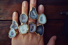etsy find of the day | CURATION REQUEST 3 | 1.29.14 requested by: anonymous looking for: shops selling boho crystal/geode...