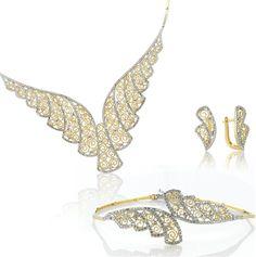 . Gems Jewelry, Pendant Jewelry, Beaded Jewelry, Jewelry Necklaces, Jewelry Design Drawing, Jewellery Sketches, Silver Filigree, Terracotta, Necklace Set