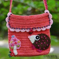 Crochet pattern Little hedgehog purse by VendulkaM by VendulkaM