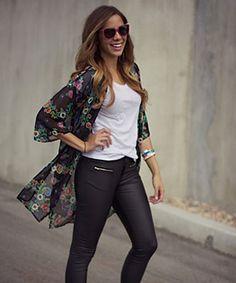 AMARA | Boutique, kimono, leather pants