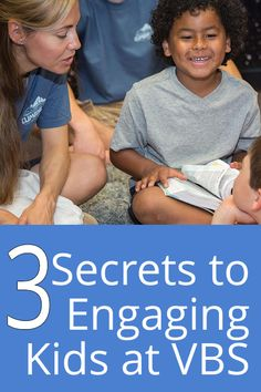 Here are three simple secrets you can try right away at your VBS