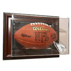 Arizona Cardinals NFL Case-Up Football Display Case (Horizontal)
