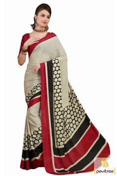 Fancy Red Creape Printed Saree http://www.pavitraa.in/store/casual-saree/  #printedsarees, #onlinesarees, #onlineshopping, #pavitraa, #sarees, #designersarees, #partywearsaree, #weddingsarees, #casaulsaree