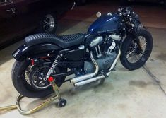 New Biltwell seat, clipons, and awesome pipes