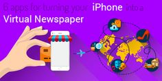 Here are 6 top iPhone apps which will turn your iPhone into a virtual newspaper, which you can carry in your pocket and connect with the world on the go. Whether you plan to catch up on what's happening at the beach or on the train to work, you'll be all set with any of these popular news apps. Click the image for our full article.