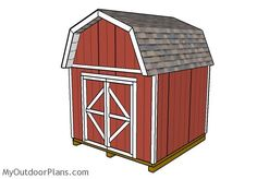 10x10 Barn Shed Plans | MyOutdoorPlans | Free Woodworking Plans and Projects, DIY Shed, Wooden Playhouse, Pergola, Bbq