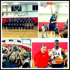 Klay Thompson & Harrison Barnes are hard at work at the USA Basketball Men's National Team Mini-Camp #USABMNT | Photos: http://on.nba.com/17BA6oJ