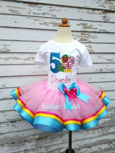 Shopkins tutu, shopkins decoration Check out this item in my Etsy shop https://www.etsy.com/listing/275487038/shopkins-tutu-shopkin-tutu-shopkin-shirt