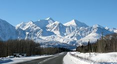 On the Alaska Highway, north of Haines Junction, Yukon - This is perfect example of polar wander. When I was there you could either go East or West from Haines Junction on the Alaska Highway. Now you can go North. Miss Alaska, Places Around The World, Around The Worlds, Moving To Alaska, Alaska Highway, Yukon Territory, Side Road, British Columbia, Travel Usa
