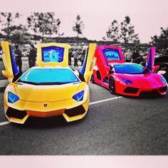 Double The Trouble - Lamborghini Aventador's