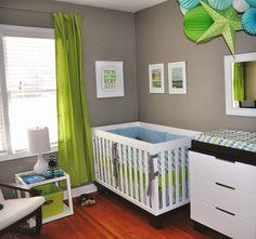 habitacion bebe gris y blanco - Buscar con Google