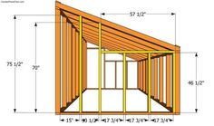 Lean-to Greenhouse Plans | Free