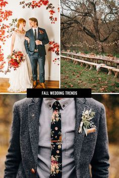 Fall is a beautiful time of year, and it is becoming an increasingly popular season for people to marry. Exchanging wedding vows during the fall lets the bridal couple use attractive autumn themes for decorations and wedding attire. For some great, trendy fall wedding ideas, explore the following eBay guide, and create cherished autumn memories that last a lifetime.