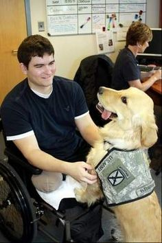 Service dog training program a win-win for Wounded Warriors, dogs (DCMilitary.com)