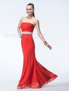 Occasion, Exquisite Column Strapless Lace Sequins Beading Floor-Length EveningExquisiteProm Dress, Dresses,130.99