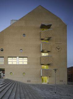Educational Centre in Aschersleben   Lederer Ragnarsdóttir Oei