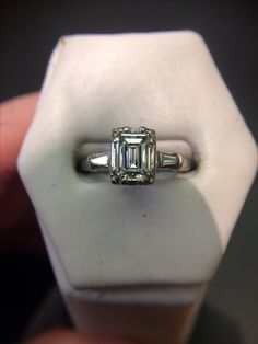 Diamond is the birth stone of April and Schooley's has plenty of stones available!
