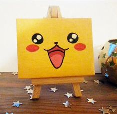 58 new ideas for cute canvas art easy paintings Kids Canvas Art, Small Canvas Paintings, Small Canvas Art, Cute Paintings, Mini Canvas, Canvas Crafts, Canvas Ideas, Drawing On Canvas, Painting Canvas