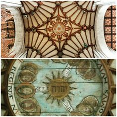 Jehovah written in Hebrew on the ceiling in the Winchester Cathedral Hampshire England #Tetragrammaton  #Jehovah #Yahweh #Godsname #DivineName #Bible