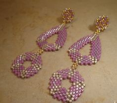Tutorial earrings Unexpected Spring Technical  di PatriziaBijoux