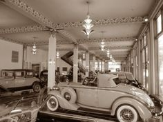 We just returned from a trip to the Auburn Cord Duesenberg museum in Auburn, Indiana. What a place the museum is!