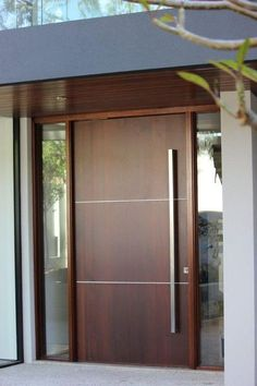 15 Main Entrance Door Design Ideas – The Wonder Cottage – Eingang – door Modern Entrance Door, Main Entrance Door Design, Wooden Main Door Design, Modern Exterior Doors, Front Door Entrance, Entrance Decor, Entrance Ideas, Front Entry, Modern Front Door